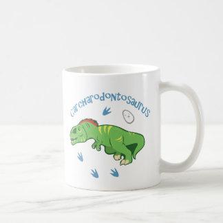 Cute Carcharodontosaurus Coffee Mug