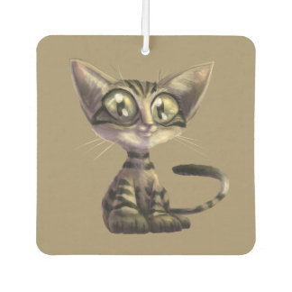 Cute Caricature Cat Car Air Freshener