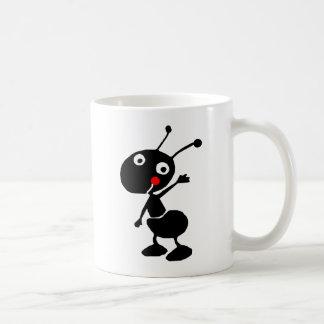 cute cartoon ant coffee mug