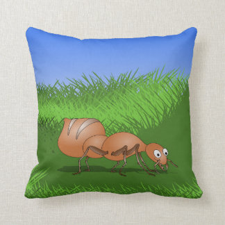 Cute Cartoon Ant Cushion