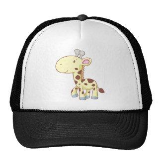 Cute Cartoon Baby Giraffe Shirts Cap