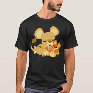 Cute Cartoon Baby Lion's Bath T-Shirt