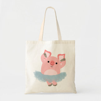 Cute Cartoon Ballerina Pig Bag