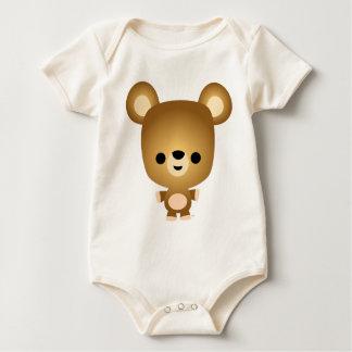 Cute Cartoon Bear Cub Baby Baby Bodysuit