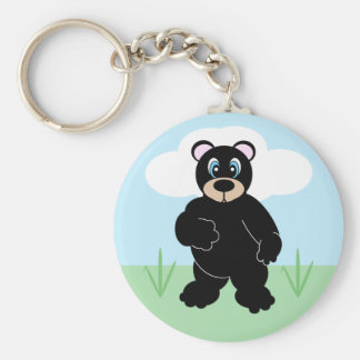 Cute Cartoon Bear Keychain