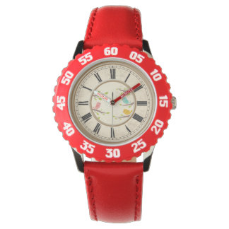Cute Cartoon Birds Childrens Watch
