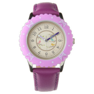 Cute Cartoon Birds Childrens Watches
