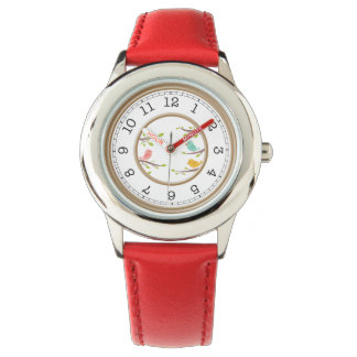 Cute Cartoon Birds Childrens Wrist Watch