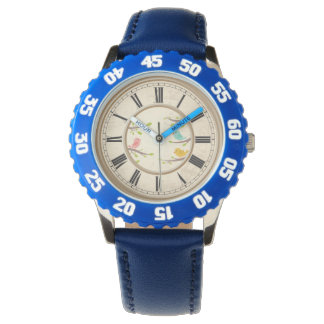 Cute Cartoon Birds Childrens Wristwatch
