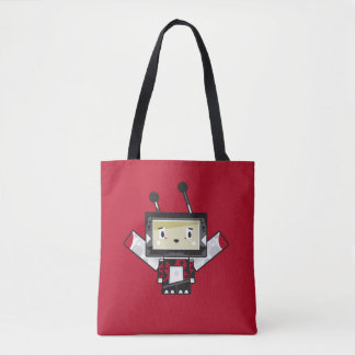 Cute Cartoon Blockimals Ladybird Tote Bag