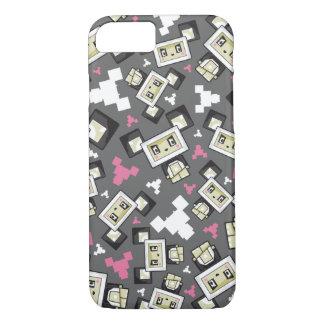 Cute Cartoon Blockimals Panda Bear iPhone 8/7 Case