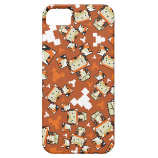 Cute Cartoon Blockimals Tiger Barely There iPhone 5 Case