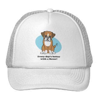 Cute Cartoon Boxer Hat