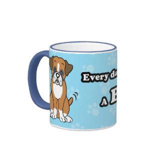 Cute Cartoon Boxer Mug