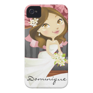 Cute Cartoon Bride Blackberry Bold Covers