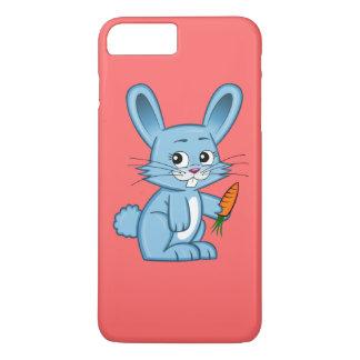 Cute Cartoon Bunny with Carrot iPhone 7 Plus Case