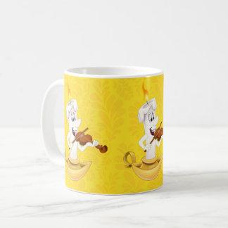 Cute cartoon candle mug