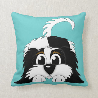 Cute Cartoon Cavachon Cushion