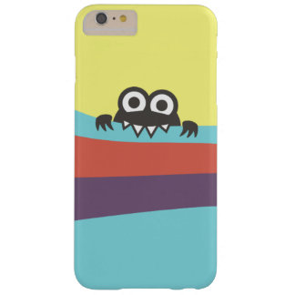 Cute Cartoon Character With Sharp Teeth Colorful Barely There iPhone 6 Plus Case