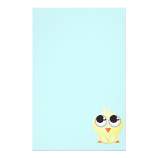 Cute Cartoon Chick Stationery