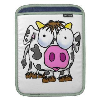 Cute Cartoon Cow Sleeve For iPads