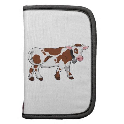 Cute Cartoon Dairy Cow Planners