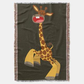 Cute Cartoon Dancing Giraffe