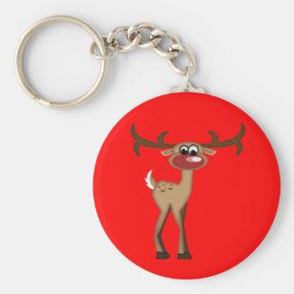 Cute Cartoon Deer Key Ring