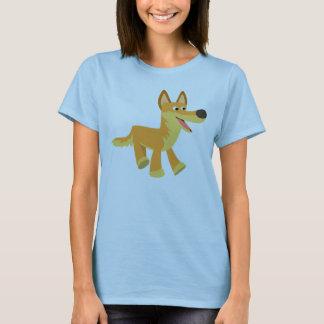 Cute Cartoon Dingo Women T-Shirt
