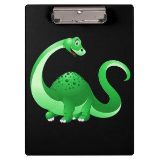 Cute Cartoon Dinosaur Clipboard