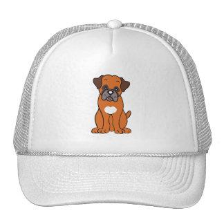 Cute Cartoon Dog Boxer Hat