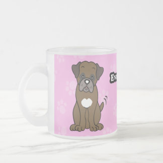 Cute Cartoon Dog Boxer Mug