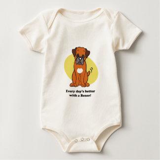 Cute Cartoon Dog Boxer T-Shirt