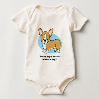 Cute Cartoon Dog Corgi T-Shirt