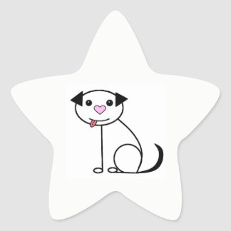 Cute cartoon dog stickers