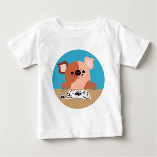 Cute Cartoon Drawing Piglet Baby T-Shirt