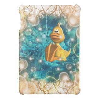 Cute cartoon duck fantasy iPad mini case