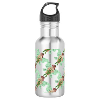 Cute cartoon fairy 532 ml water bottle
