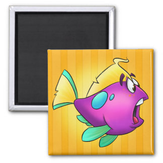 Cute cartoon fish Magnet