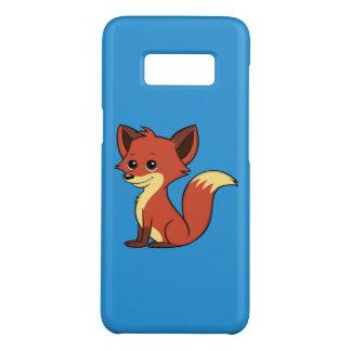 Cute Cartoon Fox Blue Samsung Galaxy S8 Case