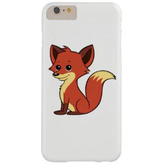 Cute Cartoon Fox White iPhone 6 Plus Case