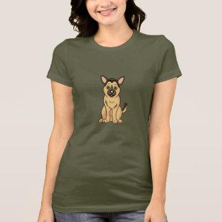 Cute Cartoon German Shepherd T-Shirt