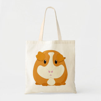 Cute Cartoon Ginger Brown Guinea Pig