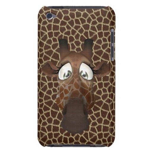 Cute Cartoon Giraffe iPod Touch Case