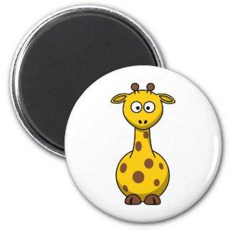 Cute Cartoon Giraffe Magnet