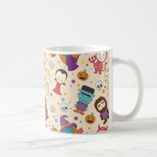 Cute cartoon Halloween pattern Coffee Mug