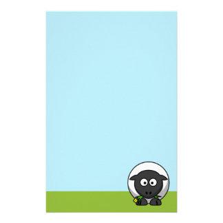 Cute Cartoon Lamb Stationery