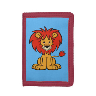 Cute Cartoon Lion Wallet