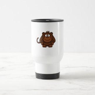 Cute Cartoon Monkey Template Mug