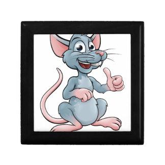 Cute Cartoon Mouse or Rat Gift Box